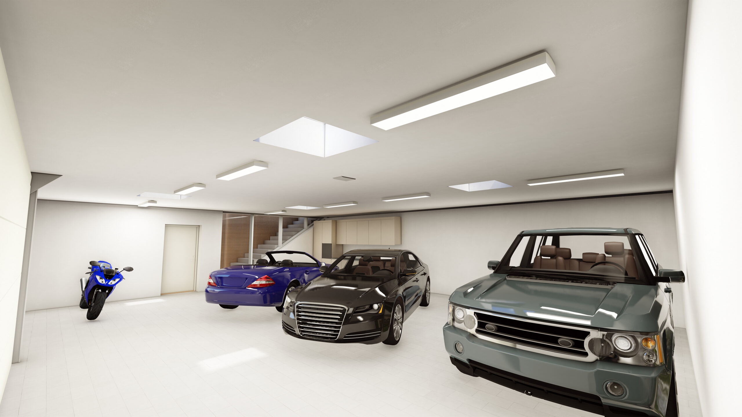 Ptoftdal - Stor hus - garage